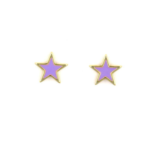 Picture of Children's Earrings - Stud (Star)