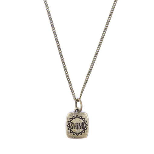 Picture of Choker - Shine on Chain (Antique Brass)