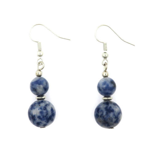 Picture of Earrings - Stone (Sodalite)