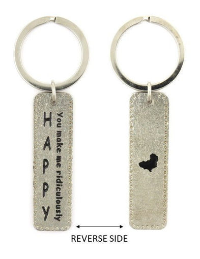 Picture of Key Ring - Happy