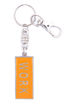 Picture of Key Ring - Name with Clip (WORK/SA flag) Painted ORANGE