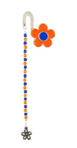 Picture of Bookmark - Daisy (Orange/Blue)