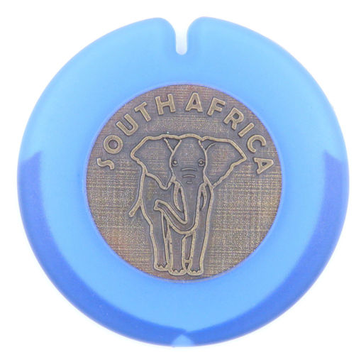Picture of License Disc Holder - Elephant (Blue)