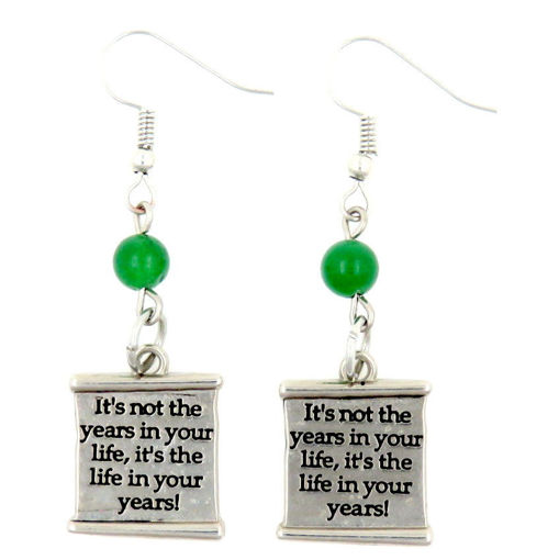 Picture of Earrings - It's Not The Years...