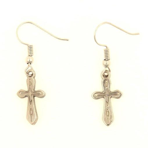 Picture of Earrings - Cross