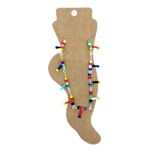 Picture of Anklet - Multicoloured