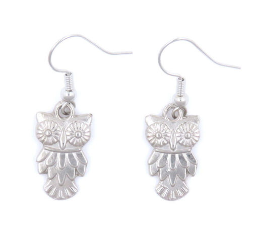 Picture of Earrings - Owl (Nickel)